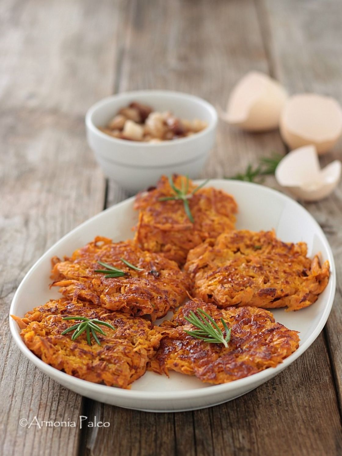 dieta con patate dolci fritters